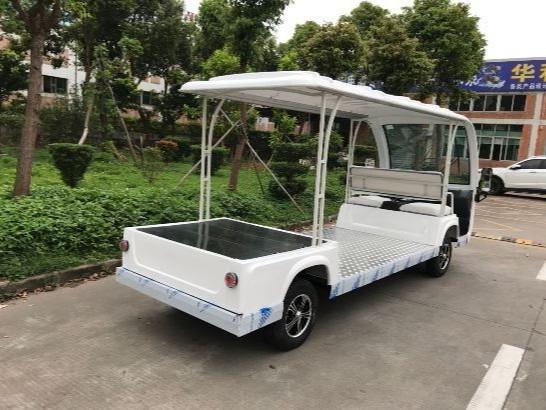 低平板电动货车