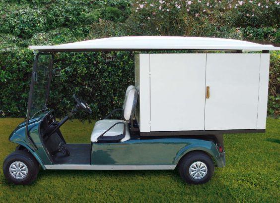 电动布草车