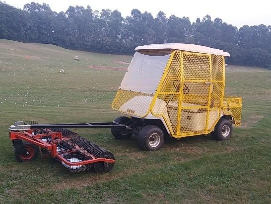 华锴电动车推出了电动高尔夫捡球车防护网定制服务