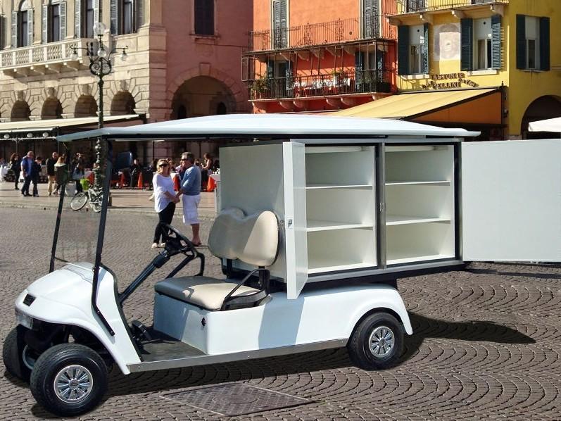 电动布草车在酒店度假村的应用