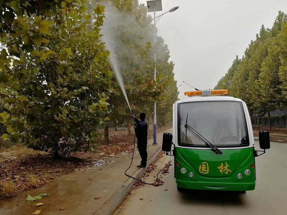 2座电动园林绿化养护车