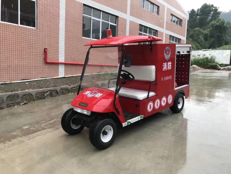 华锴电动巡逻车助力五零社区建设