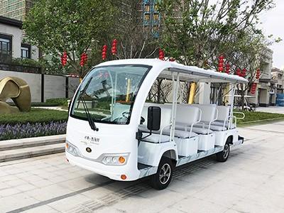 华锴电动观光车有利于保护景区环境