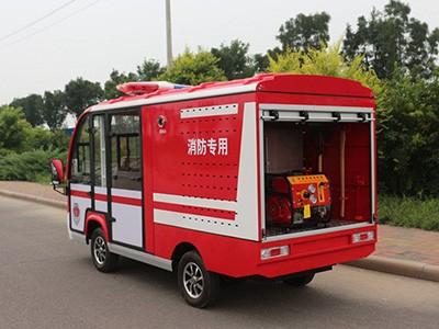 相对于大型消防车,电动消防车优点体现在哪里