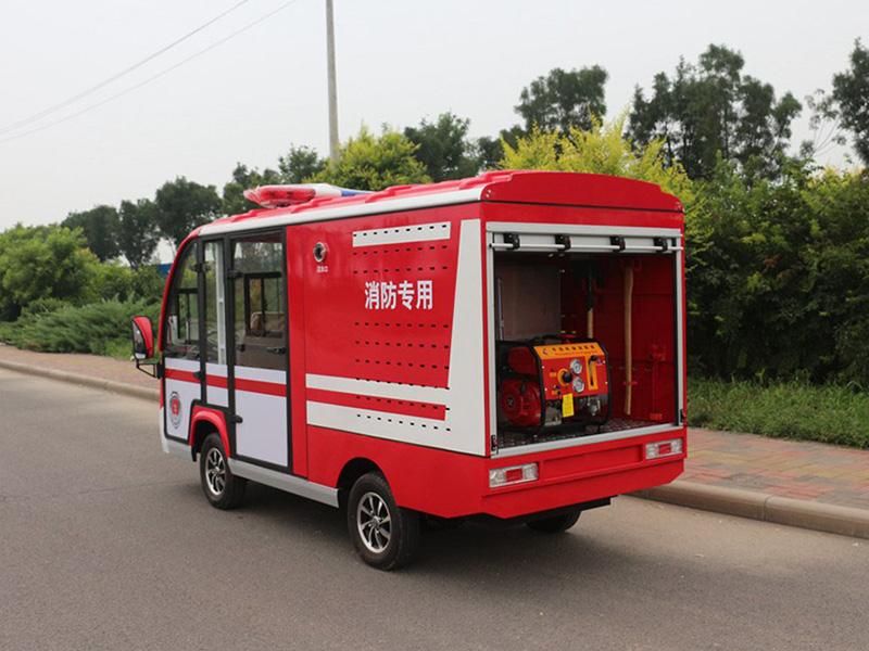 电动消防车优点