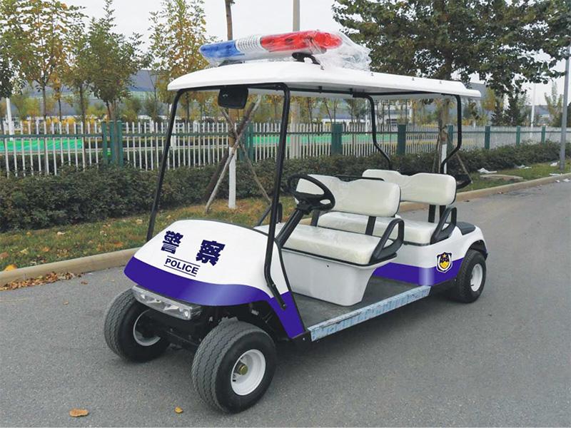 保养电动巡逻车