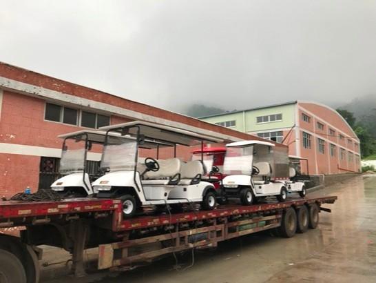 华锴电动车与世界著名酒店品牌希尔顿酒店情缘海南
