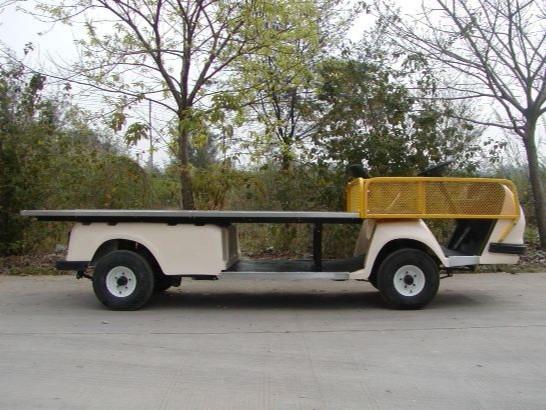 不锈钢平板1吨电动货车
