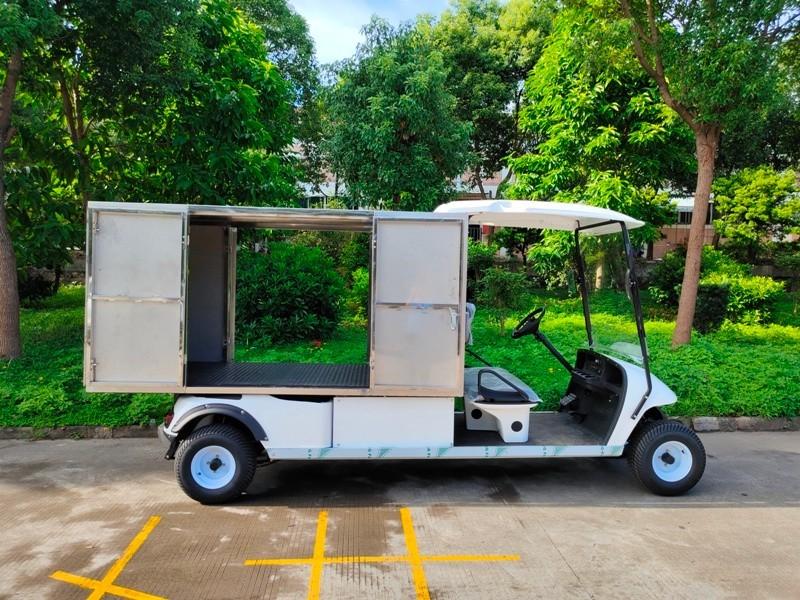 2座超长电动布草车