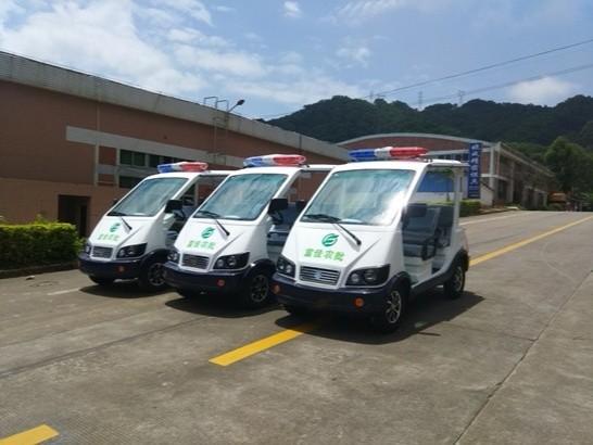华锴电动巡逻车服务大型农贸市场
