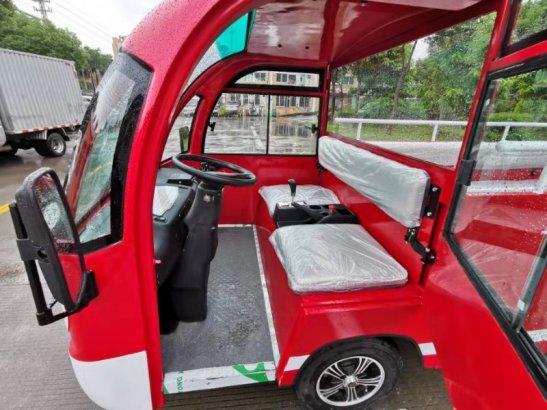儿童体验电动消防车