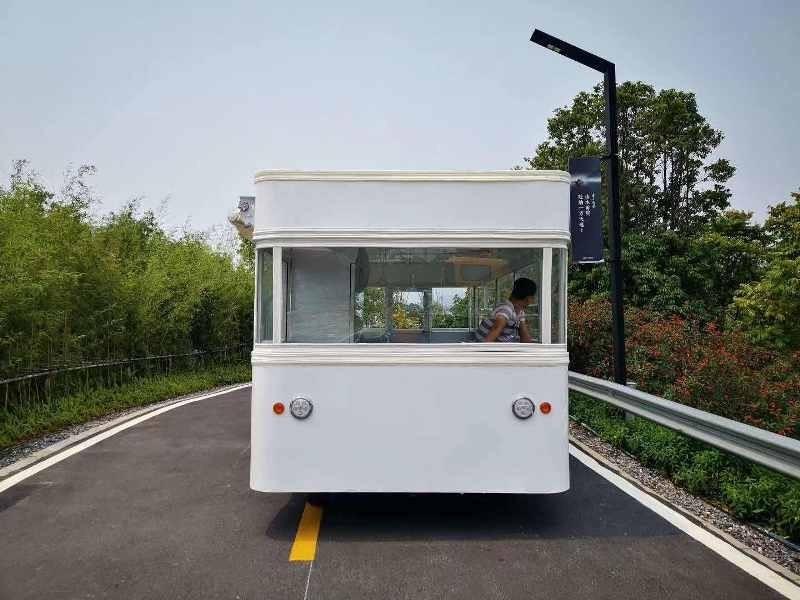 电动移动餐车