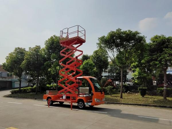 华锴高空作业电动举升车