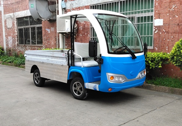 不锈钢货箱铝合金围板电动货车