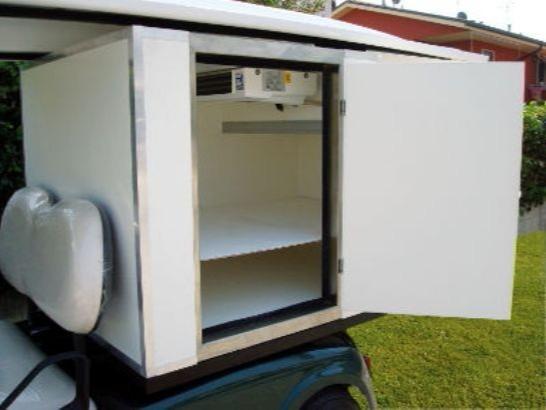 冷链电动送餐车
