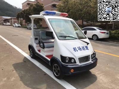 华锴电动巡逻车送往机场安保巡逻使用