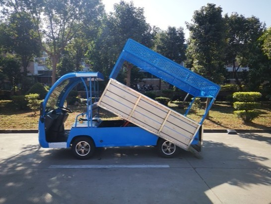 自卸式电动货车