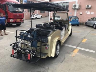一款定制的电动老爷车