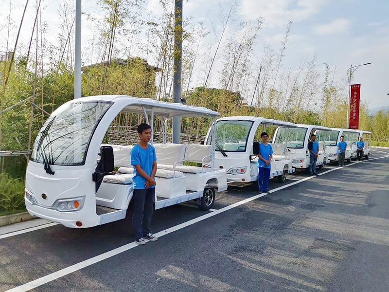 华锴电动车最新推出电动观光车租赁业务