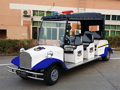 华锴电动巡逻车进驻广州居住小区
