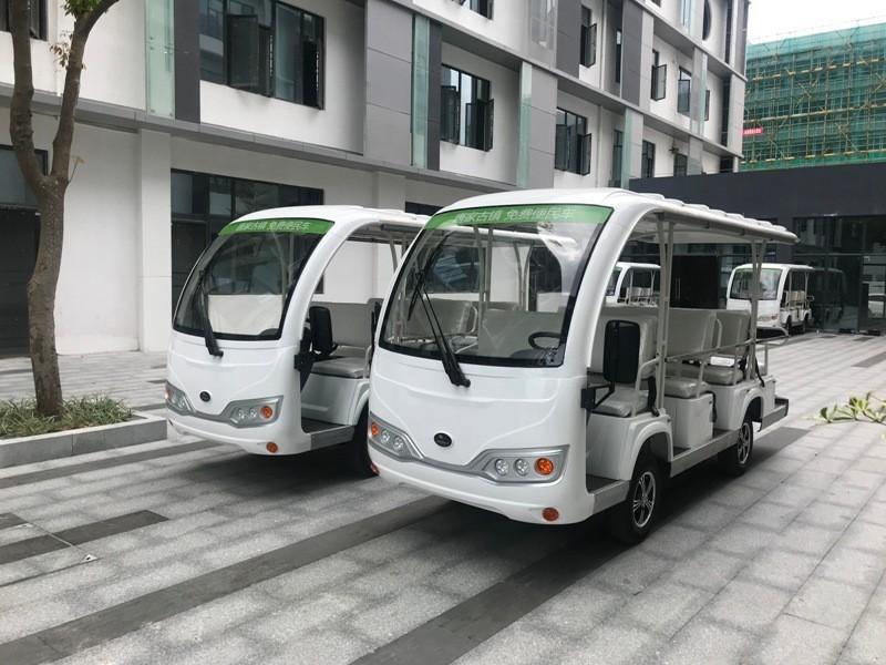 绿色环保出行,华锴电动观光车助力珠海唐家古镇