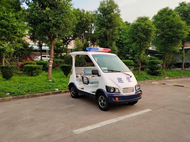 华锴电动车为园区物业巡查任务提供代步的好帮手
