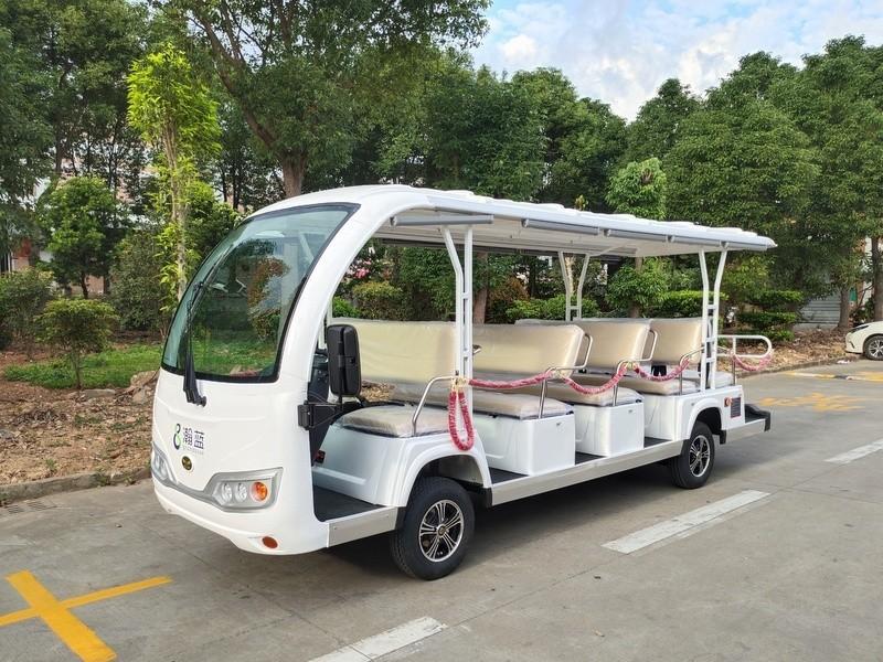 华锴14座电动观光礼宾车