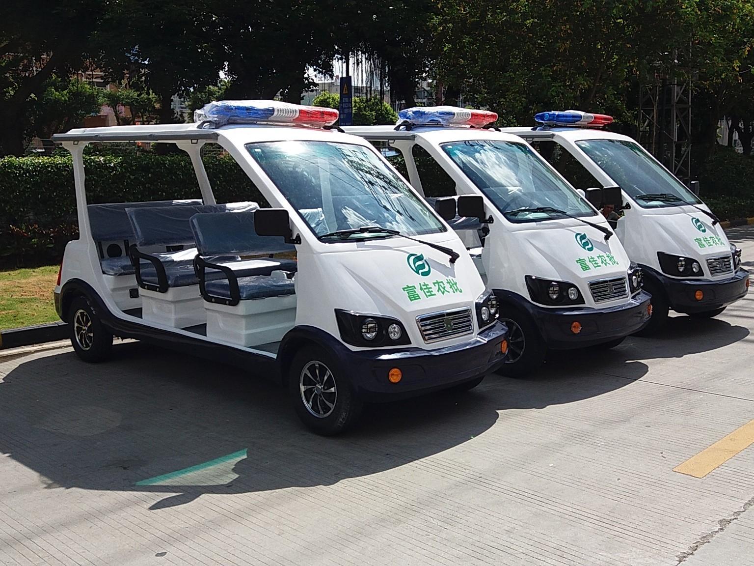 华锴电动巡逻车在城市治安中的应用