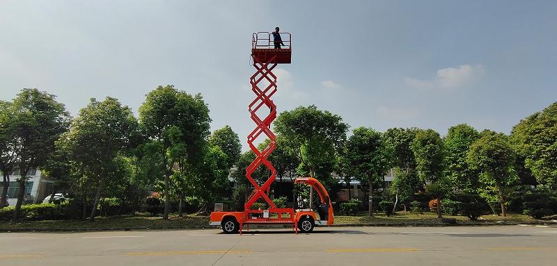 电动升降车