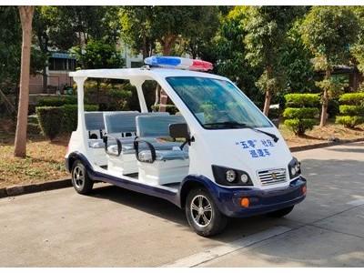 警用8座电动巡逻车