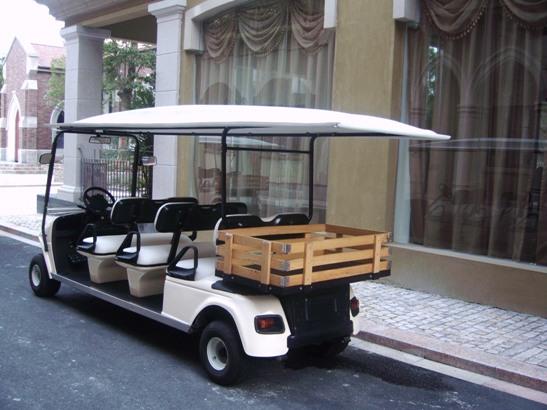 6座带货斗电动礼宾车