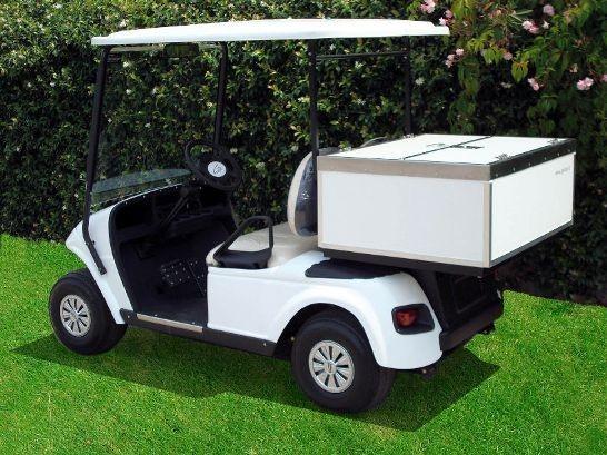 2座高尔夫球车货车