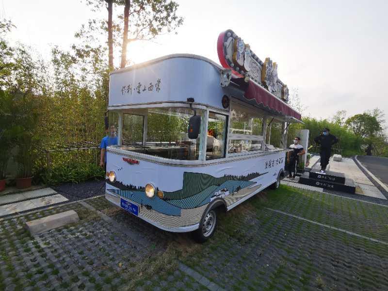 华锴移动餐车