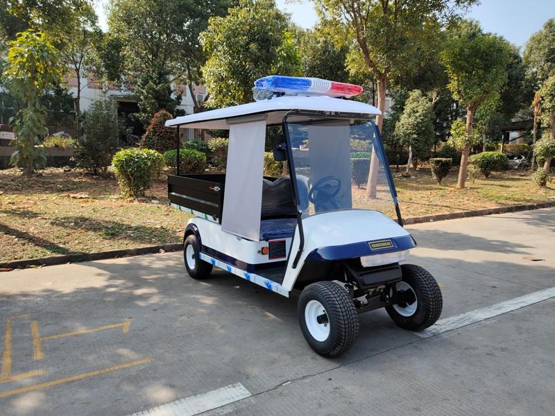 2座带货斗电动高尔夫巡逻车