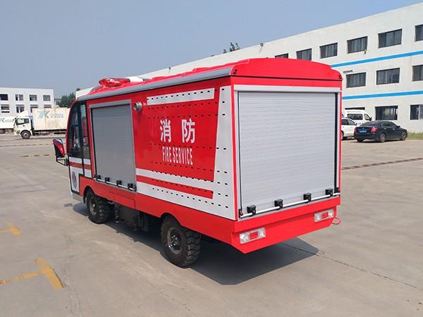 2吨水箱电动消防车