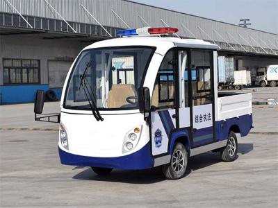 行政综合执法带货箱电动巡逻车