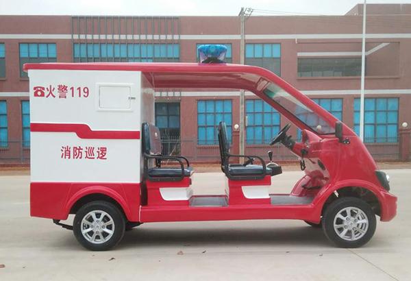 5座网格化消防巡查电动消防车
