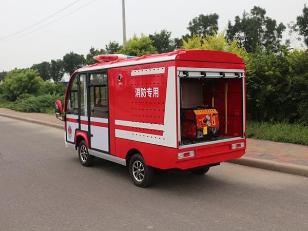 5座位应急管理电动消防车