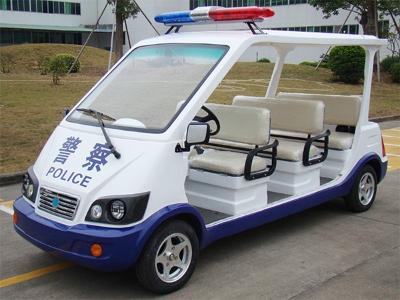 8座经典款警用巡逻车