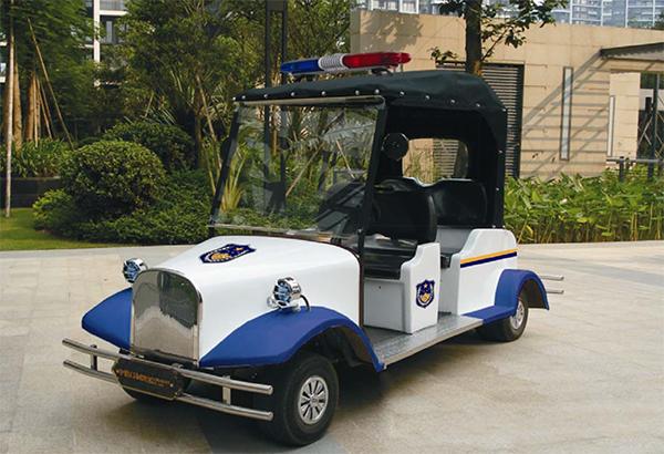 2-8人座位复古款款警用巡逻车