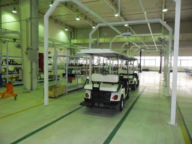 华锴电动车-车间测试