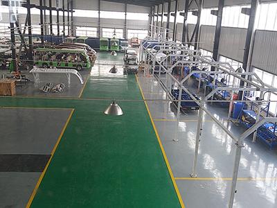 华锴电动车-工厂内部