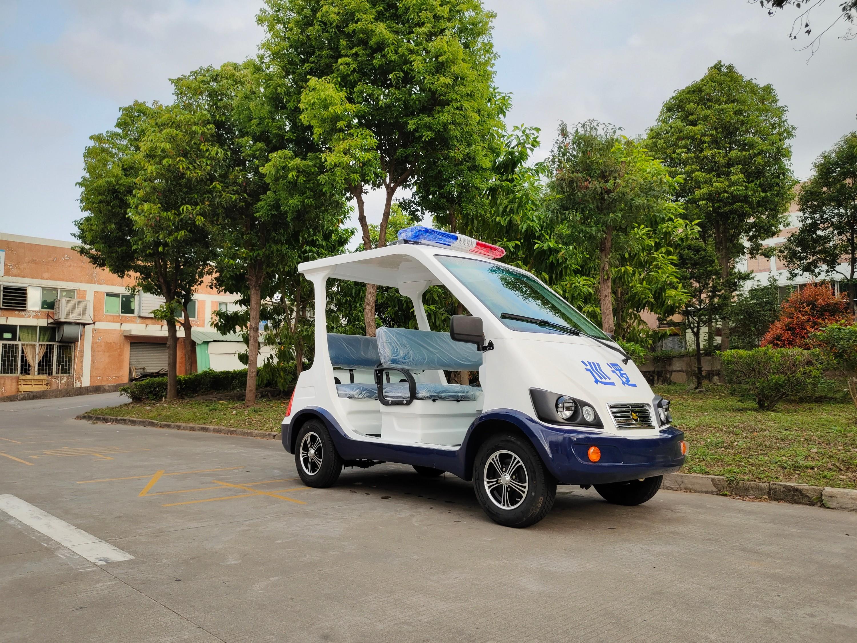 知名企业--长沙三一重工使用华锴电动巡逻车