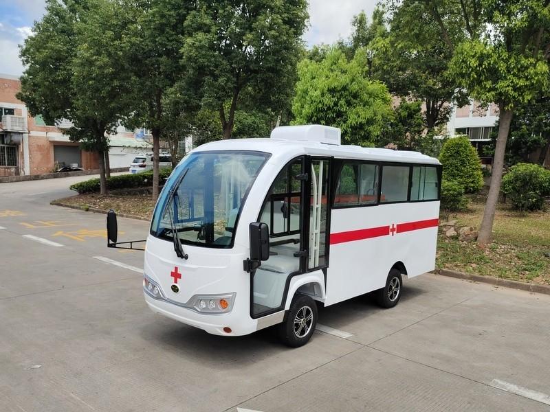 华锴电动救护车助力广州医院